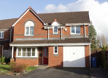 Thumbnail 4 bed detached house for sale in Nab Wood Drive, Chorley, Lancashire