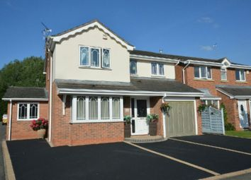Thumbnail 4 bed detached house for sale in Needwood Way, Narborough, Leicester