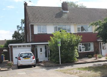 Thumbnail 3 bed semi-detached house for sale in Ashdown Way, Ipswich