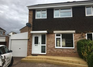 Thumbnail 3 bed semi-detached house to rent in Hollymount Close, Exmouth