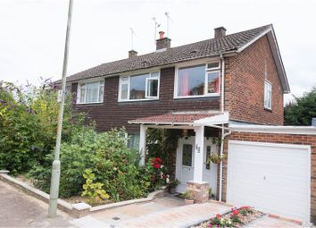 Thumbnail 3 bed semi-detached house for sale in Shaftesbury Road, Canterbury