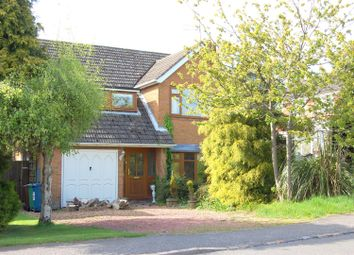 Thumbnail 3 bed detached house for sale in Glebefields, Woodseaves, Stafford