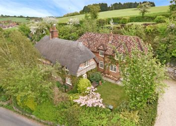 Thumbnail 4 bed detached house for sale in Brewhouse Hill, Froxfield, Marlborough, Wiltshire