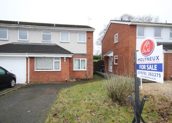 Thumbnail 3 bed semi-detached house for sale in The Meadows, Gwersyllt, Wrexham