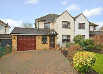Thumbnail 3 bed semi-detached house for sale in Watling Knoll, Radlett, Hertfordshire