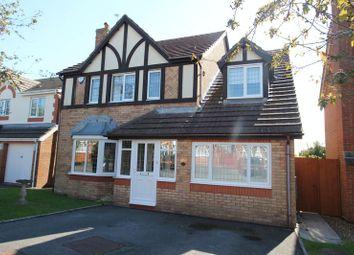 Thumbnail 4 bedroom detached house for sale in Rhodfa Felin, Barry