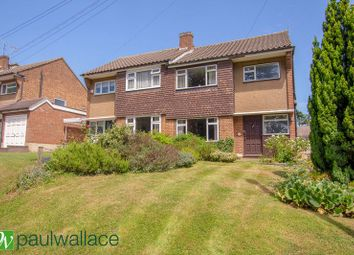 Thumbnail 3 bed semi-detached house for sale in Bell Lane, Broxbourne