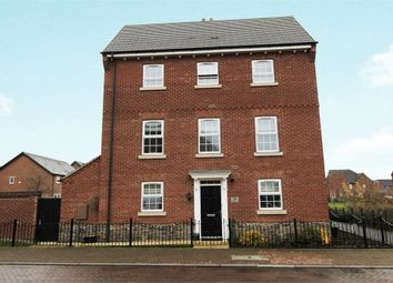 Thumbnail 4 bed link-detached house for sale in Empingham Drive, Syston, Leicester