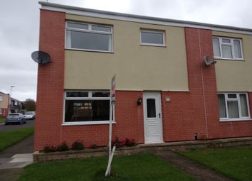 Thumbnail 3 bedroom terraced house for sale in Wallridge Drive, Holywell, Whitley Bay