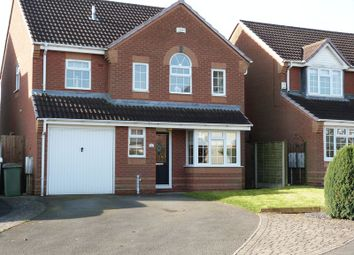 Thumbnail 4 bed detached house to rent in De Ruthyn Close, Moira, Swadlincote