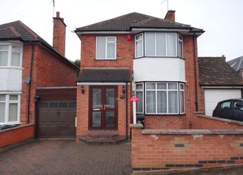 Thumbnail 3 bed link-detached house for sale in Byway Road, Evington, Leicester