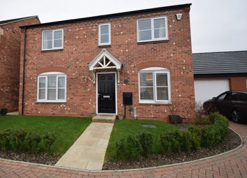 Thumbnail 4 bed detached house for sale in Exeter Close, Syston, Leicester