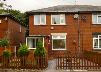 Thumbnail 3 bed semi-detached house for sale in Moorland Avenue, Whitworth, Rochdale