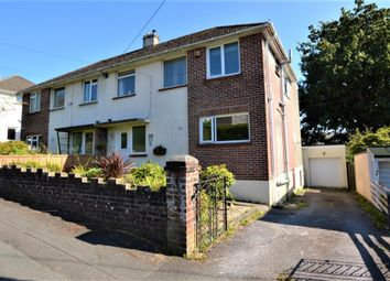 Thumbnail 4 bed semi-detached house for sale in Torridge Road, Plymouth, Devon