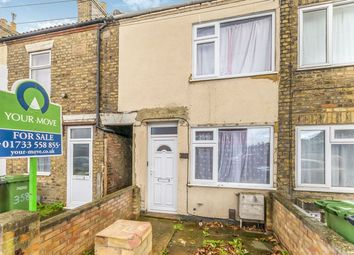 Thumbnail 3 bed terraced house for sale in Lincoln Road, Millfield, Peterborough