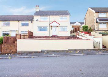 Thumbnail 3 bedroom semi-detached house for sale in Fflorens Road, Newbridge, Newport, Caerphilly