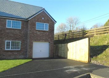 Thumbnail 4 bed detached house for sale in Clos Y Gat, Gorslas, Carmarthenshire