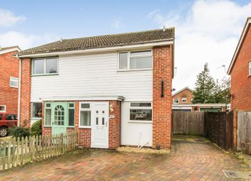 Thumbnail 2 bed semi-detached house for sale in Mersey Way, Henwick, Thatcham