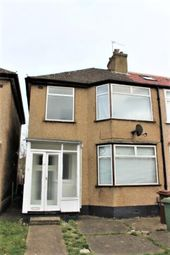 Thumbnail 3 bedroom terraced house to rent in Tudor Road, Harrow, Middlesex