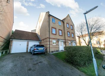 Thumbnail 5 bed town house for sale in Barleyhayes Close, Ipswich