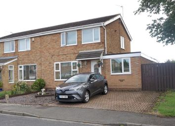Thumbnail 4 bed semi-detached house for sale in Winchester Close, Great Lumley, Chester Le Street