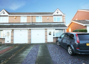 Thumbnail 3 bed semi-detached house for sale in Lintonburn Park, Morpeth, Northumberland