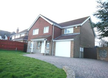 Thumbnail 4 bed detached house for sale in Park Lane, Eastbourne, East Sussex