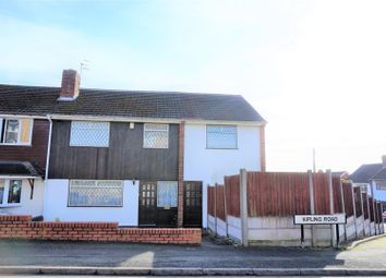 Thumbnail 4 bed semi-detached house for sale in Kipling Road, Dudley