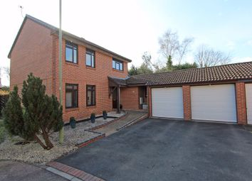 Thumbnail 4 bed detached house for sale in Clydesdale Way, Totton, Southampton