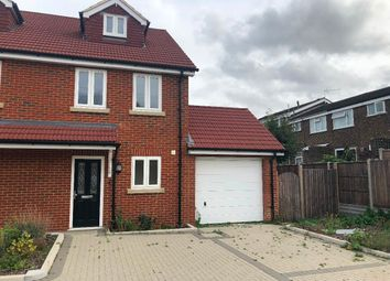 Thumbnail 3 bed semi-detached house to rent in Granary Close, Rainham, Gillingham