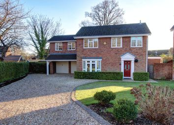 Thumbnail 4 bed detached house for sale in Fernyhurst Avenue, Rownhams, Hampshire