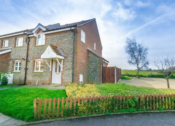 Thumbnail 2 bed semi-detached house for sale in Saxon Field, Brancaster, King's Lynn