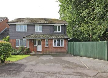 Thumbnail 4 bed detached house for sale in Doe Copse Way, New Milton