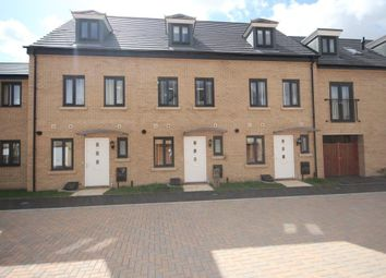 Thumbnail 3 bedroom town house to rent in Goldcrest Road, St Ives, Cambs