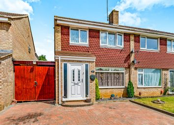 Thumbnail 3 bed semi-detached house for sale in Beauly Court, Kettering