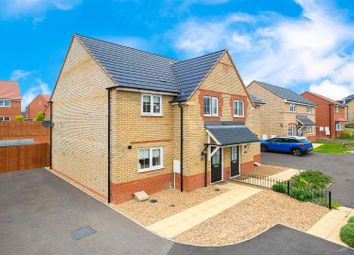 Thumbnail 3 bed semi-detached house for sale in Shackleton Close, Corby