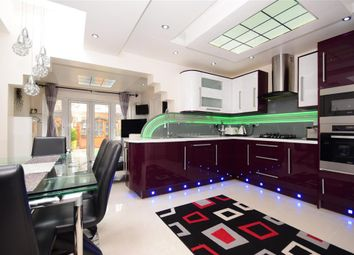 Thumbnail 5 bed terraced house for sale in Strone Road, Manor Park, London