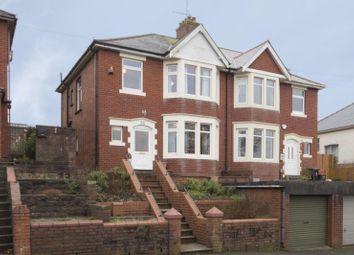 Thumbnail 3 bed semi-detached house for sale in St. Julians Road, Newport