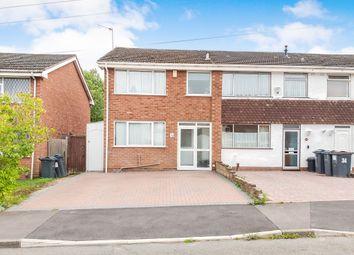 Thumbnail 3 bed end terrace house for sale in Clover Drive, Quinton, Birmingham