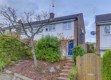 Thumbnail 3 bed semi-detached house for sale in Chandlers Way, Hertford, Hertfordshire