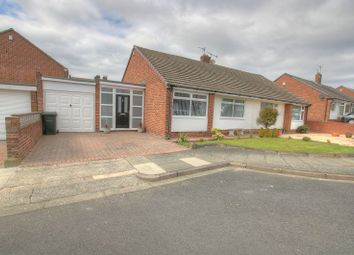 Thumbnail 2 bed semi-detached bungalow for sale in Arncliffe Gardens, Newcastle Upon Tyne