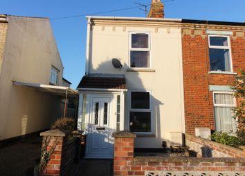 Thumbnail 3 bed end terrace house for sale in Stradbroke Road, Gorleston