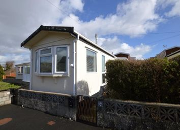 Thumbnail 1 bedroom mobile/park home for sale in The Ramparts, Stamford Lane, Plymstock, Plymouth