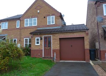 Thumbnail 3 bedroom property to rent in Julie Croft, Bilston