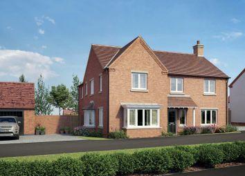 Thumbnail 5 bed property for sale in Worthington Lane, Newbold Coleorton, Coalville