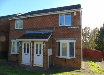 Thumbnail 2 bed semi-detached house to rent in Bishops Close, Wallsend