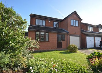 Thumbnail 4 bed detached house for sale in Camelot Way, Narborough