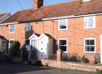 Thumbnail 2 bed terraced house for sale in Post Office Road, Knodishall, Saxmundham, Suffolk