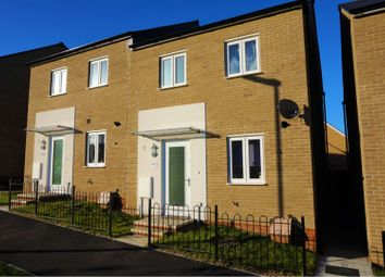 Thumbnail 3 bed semi-detached house for sale in Shackleton Road, Yeovil