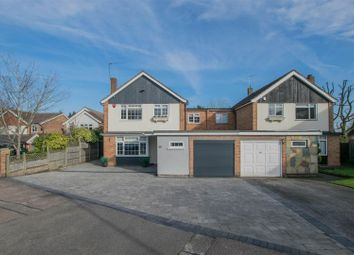 Thumbnail 4 bed link-detached house for sale in Roselands Avenue, Hoddesdon
